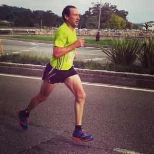 Manuel Ojea ganador media maratón Pontevedra