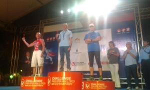"""Panoramix"" 3er clasificado en el Europeo de Triatlón M.D."