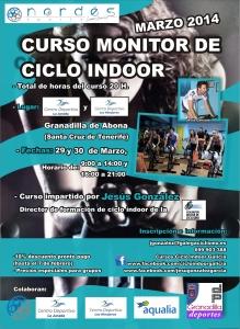 Curso de monitor ciclo indoor Tenerife