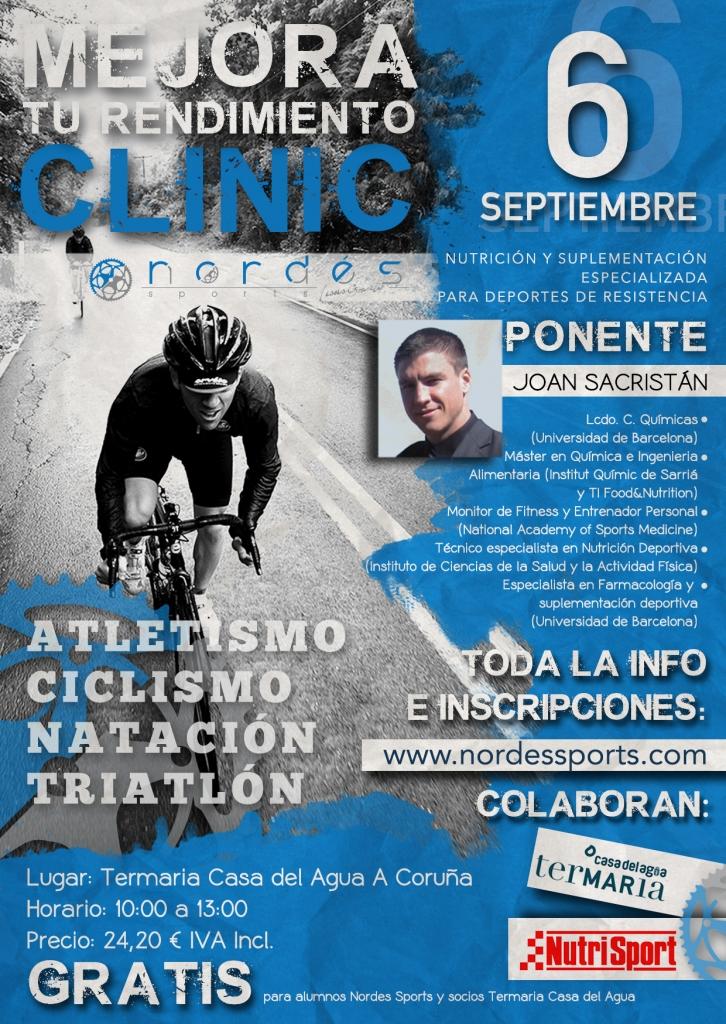 Clinic Nutrición y Suplementación Deportiva SEPTIEMBRE 2014