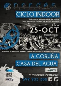 Curso monitor ciclo indoor A Coruña