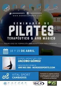 Seminario Pilates Terapeutico & Aro Mágico